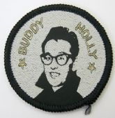 Buddy Holly - Woven Patch